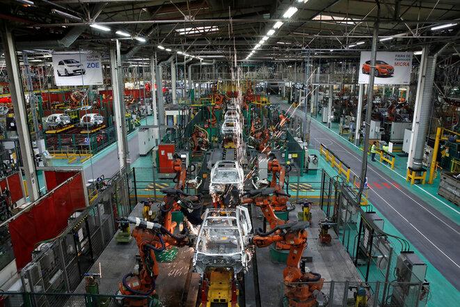 La fábrica de Renault en Flins. © Reuters