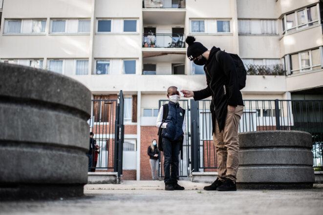 Covid-19 et minorités: un non-dit français
