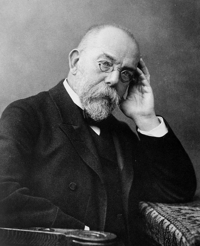 Robert Koch vers 1900. © DR