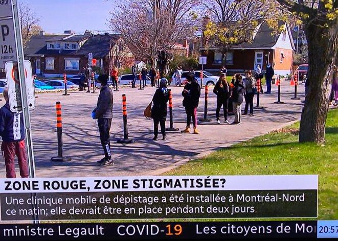 Montréal-Nord © Prise de la télé