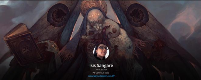 isis sangaré - cover © isis sangaré