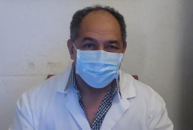 Le docteur Alain Jean-Baptiste, cardiologue à Vic-en-Bigorre (Photo PP)