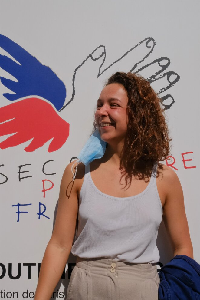 Julie Robineau. © Antoine Peillon (Ishta)