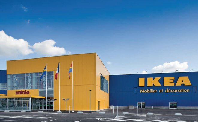An IKEA store in France. © DR