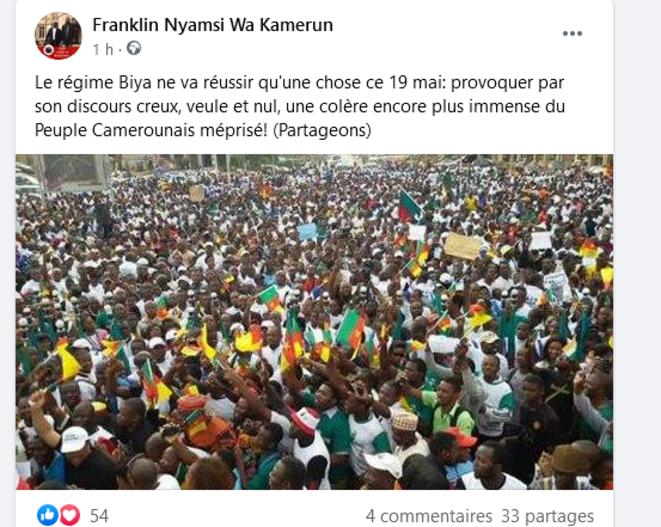 le-regime-va-enerver-les-camerounais-ce-19-mai
