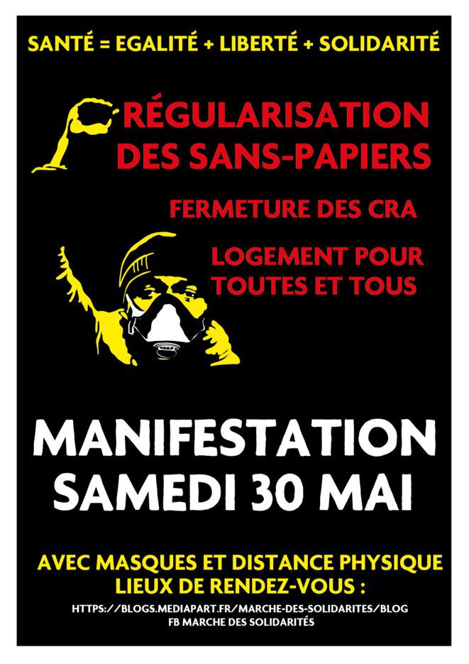 Marche des solidarités partout en France