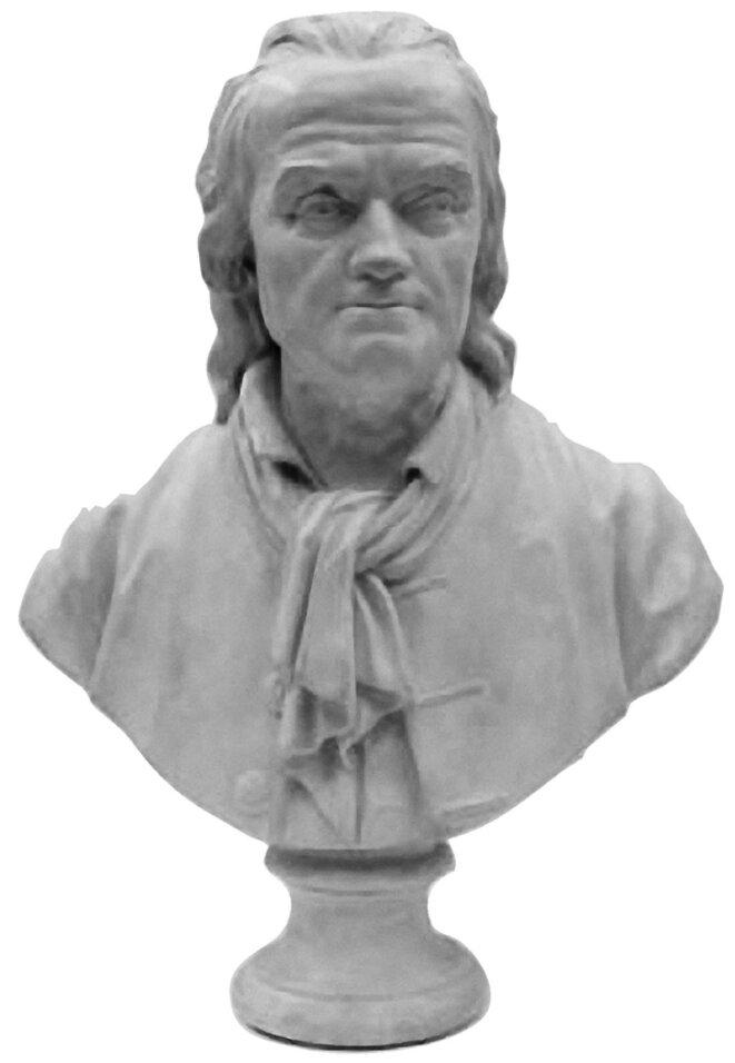 Buste de Dufourny de Villiers