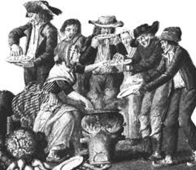 Soupe populaire à la Révolution