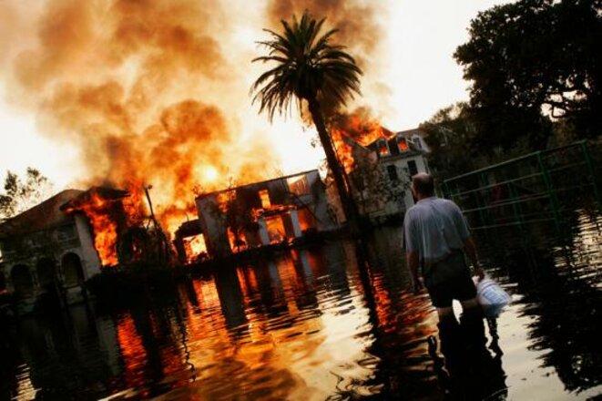 New Orléans (USA) les ravages de la tempête Katrina