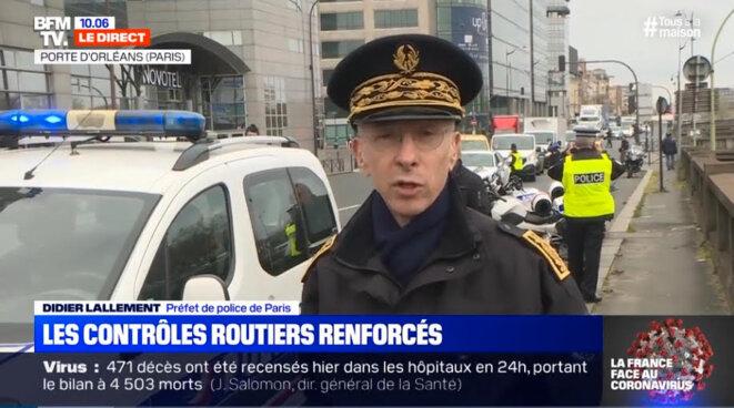 L'ALLEMAND - Préfet de police de Paris © BFM