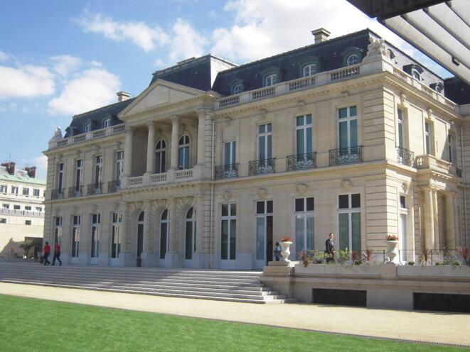 le Château de la Muette, siège de l'OCDE à Paris dans le 16eme