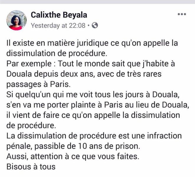 beyala-dissulation-de-procedure