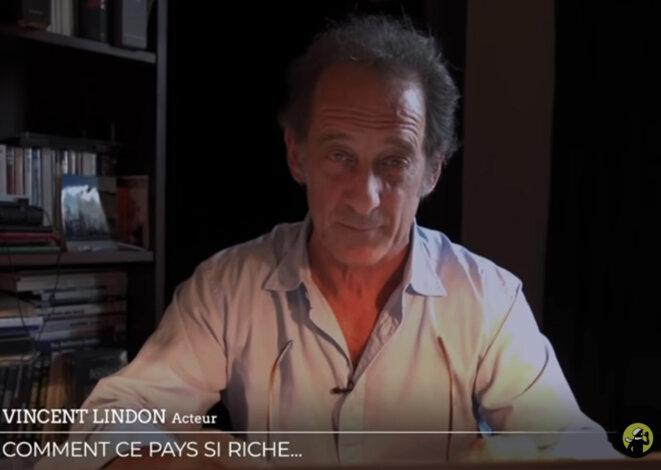 Vincent Lindon le 6 mai sur Médiapart