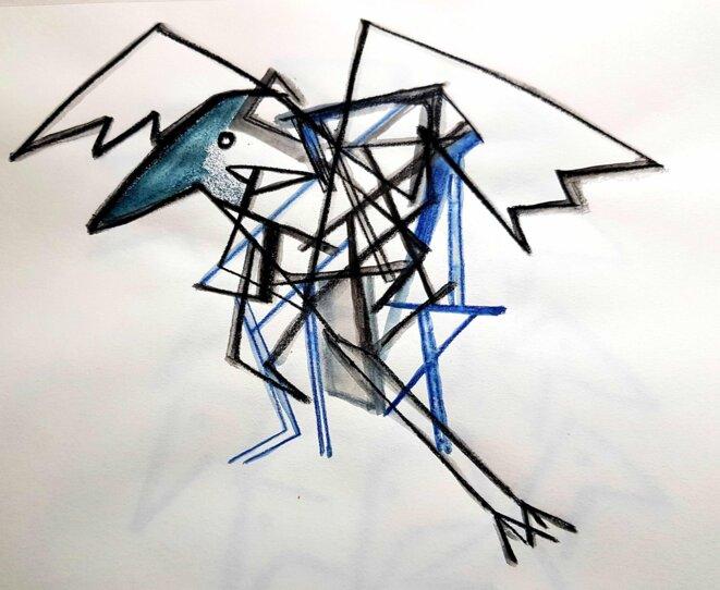 Machine oiseau, machine à penser le temps © kval