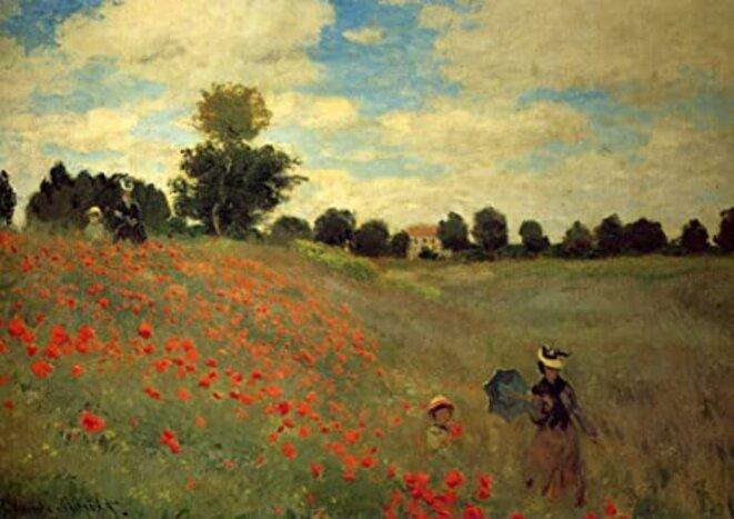 Claude Monet, Les coquelicots, 1873