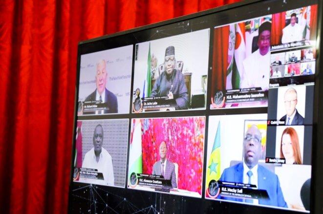 NYF Institute | 1ère table ronde virtuelle sur la résilience africaine et l'après crise Covid-19 - Cinq (5) présidents africains