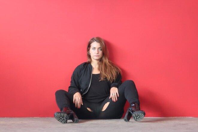 Déborah de Robertis par Emmanuelle Quertain © Emmanuelle Quertain pour Déborah de Robertis