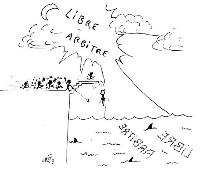 Le libre-arbitre en temps de crise © MacB23