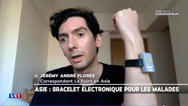 JÉRÉMY ANDRÉ FLORÈS © LCI