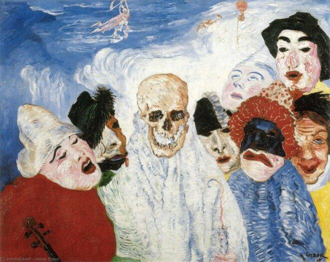 La Mort et les masques © James Ensor