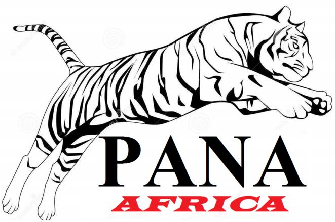 PANA : logo inspiré de la trigritude de Wole Soyinka
