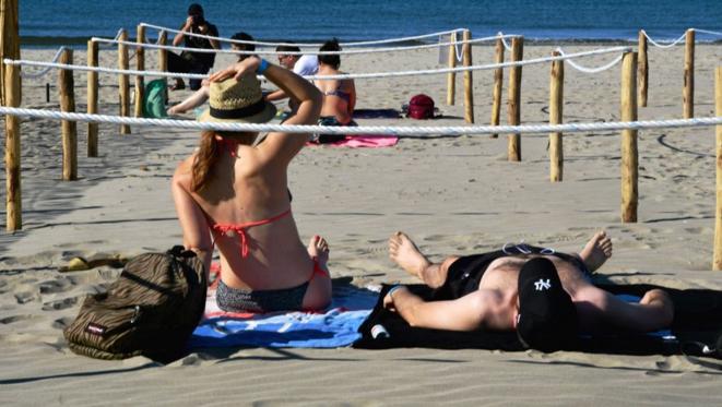 La Grande Motte et sa plage statique