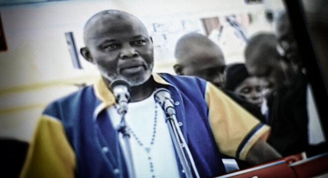Pour la deuxième audience, le procès était de nouveau diffusé en direct sur la télévision nationale congolaise © Christophe Rigaud - Afrikarabia