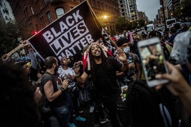 Black Lives Matter © Richard Tsong-Taatarii