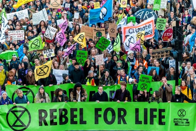 Extinction Rebellion © DR