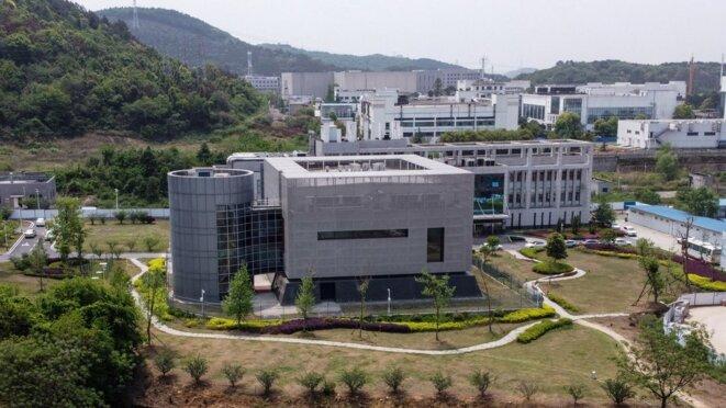 Le laboratoire P4 de Wuhan construit sur le modèle de celui de Lyon © AFP / Hector RETAMAL