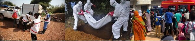 Opposition à l'enterrement de morts du COVID-19 dans la banlieue dakar oise
