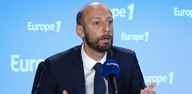 Stanislas Guerini, délégué général de LREM. © DR / Capture d'écran