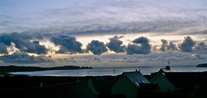 Ciel funèbre en Bretagne © Patrice Morel