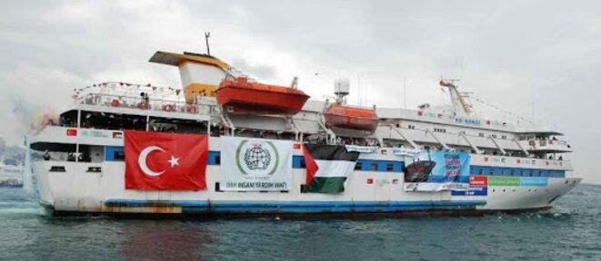 Free Gaza Movement/AFP/FileLe navire turc Mavi Marmara
