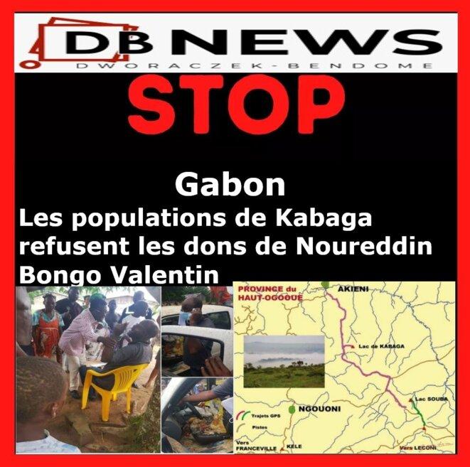 Gabon | Les populations de Kabaga refusent les dons de Noureddin Bongo Valentin