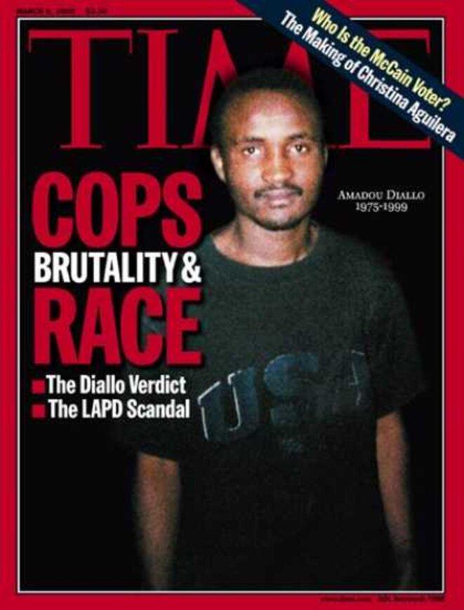 En 1999, 41 balles sur un homme noir sans arme.