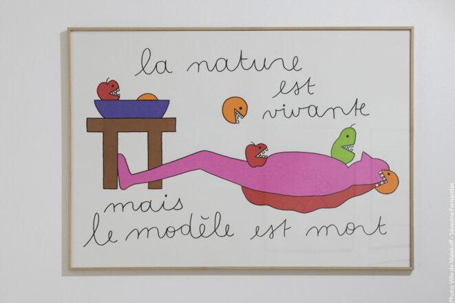 """Vue de l'exposition personnelle de Louise Pressager, """"Vous êtes l'heure, je suis le lieu"""", maison des arts de Malakoff, 2020 © Louise Pressager"""