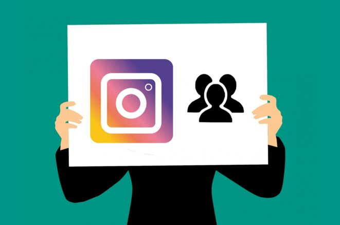 Illustration instagram © Public Domain