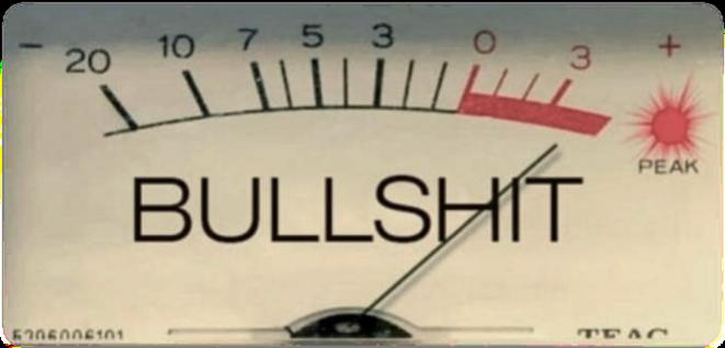 Bilan provisoire : aucune trace de légitimité pour parler de santé et un bullshitomètre dans le rouge.