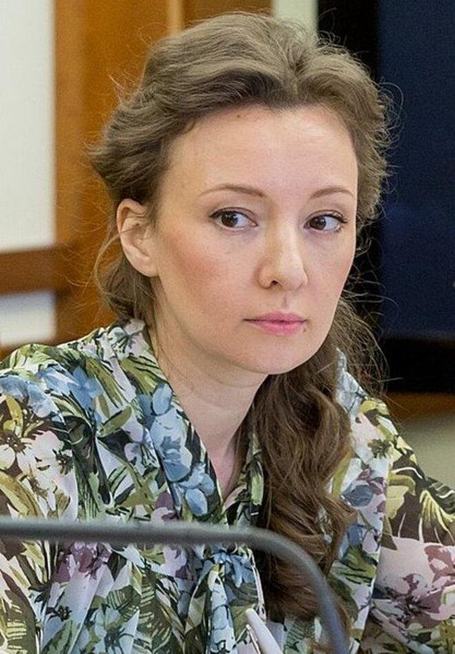 Anna Kouznetsova © Service de presse du gouvernement russe (Wikicommons)