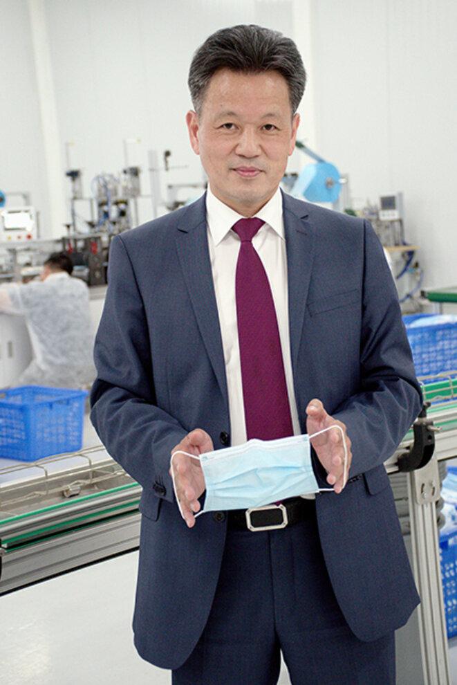 Hsueh Sheng Wang, propriétaire de la future fabrique © Alain Delpey