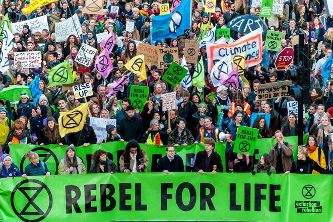 © Photo Extinction Rebellion