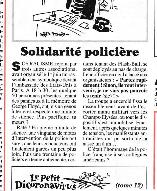 Canard EnchaÎné du mercredi 3 juin 2020 page 8