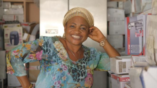 Regina Oderring tient un business familial à La Paz. © OM
