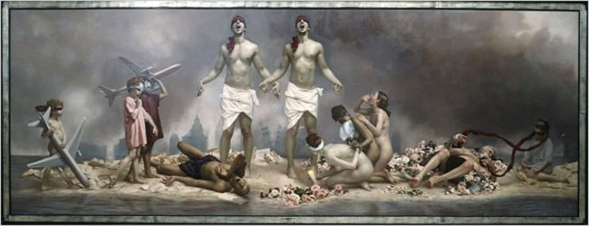 """The Cycle of Terror and Tragedy: September 11, 2001,"" by Graydon Parrish © New York Times"