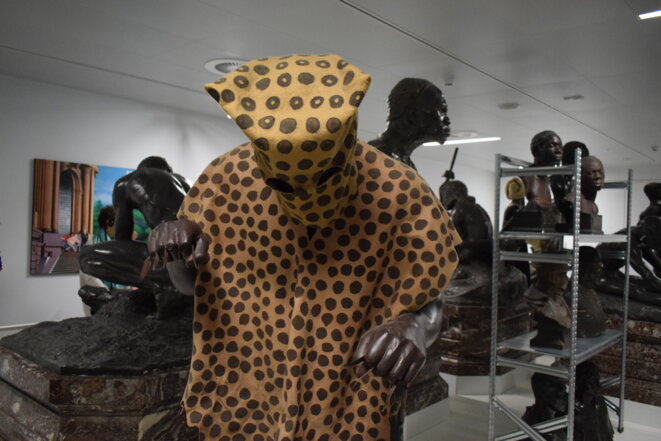 Galerie d'introduction de l'Africa Museum © Jean Housen