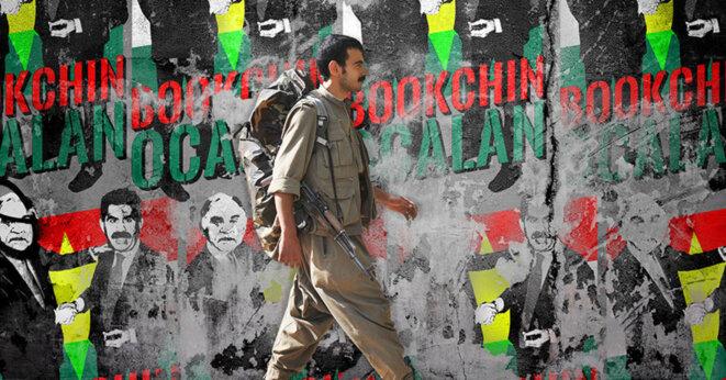 Mur au Rojava