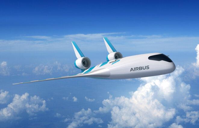 Airbus aile volante