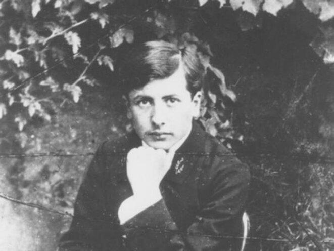 Novelist Alain-Fournier at La Chapelle-d'Angillon in France, where he grew up. © DR