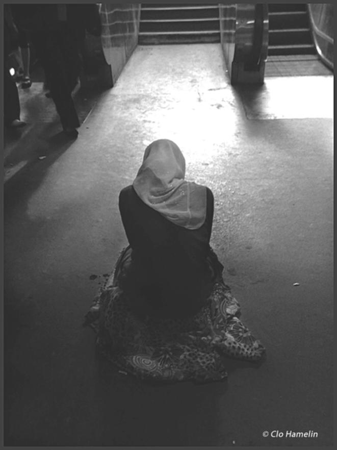 Des jours entiers en sous-sol… © Clo Hamelin